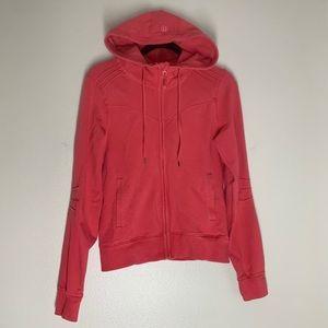 Lululemon Bliss Break Hooded Jacket Full Zip Pink